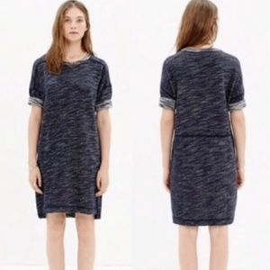 Madewell Textured Sweatshirt Size Small Dress